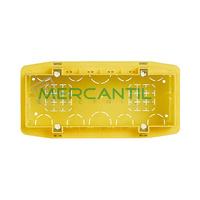 Caja de Empotrar para Albañileria 6 Modulos 183.5x90x53.5 Axolute BTICINO - Formato Rectangular