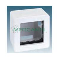 Caja de Superficie 1 Elemento 68x68x50mm SIMON 27 Play