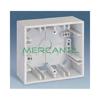 Caja de Superficie 2 Elementos 86x164x37mm SIMON 27 Play