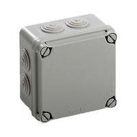 Caja de Superficie Estanca con Conos 108x108x64 NEWLEC