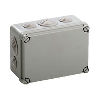 Caja de Superficie Estanca con Conos 162x116x76 NEWLEC