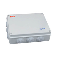 Caja de Superficie Estanca con Conos 255x200x80 IP65 RETELEC