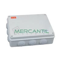 Caja de Superficie Estanca con Conos 85x85x50 IP65 RETELEC