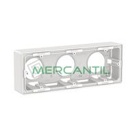 Caja de Superficie para Mecanismos 3 Elementos Valena Next LEGRAND - Color Blanco