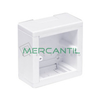 Caja de Superficie para Mecanismos Universal Enlazable 88x88x44 LEGRAND