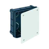 Caja de conexiones empotrar 100x100x45 IP40 Solera