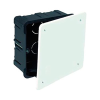 Caja de empotrar para tabiques huecos 100x100x45 IP40 Solera