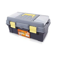Caja de herramientas con doble fondo 390x250x225mm GSC