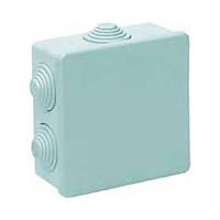 Caja de superficie estanca con conos 100x100x45 IP55 Solera