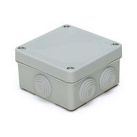 Caja de superficie estanca con conos 102x102x55 IP55 Inmael