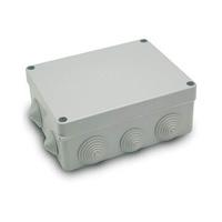Caja de superficie estanca con conos 220x170x75 IP55 Inmael