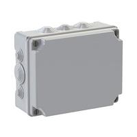 Caja de superficie estanca con conos 310x240x125 IP55 Solera