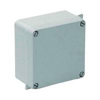 Caja de superficie estanca sin conos 100x100x55 IP65 Solera