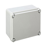 Caja de superficie estanca sin conos 162x116x76 IP66 Newlec
