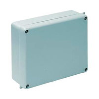 Caja de superficie estanca sin conos 220x170x80 IP65 Solera