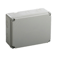 Caja de superficie estanca sin conos 241x180x95 IP66 Newlec