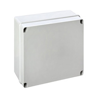 Caja de superficie estanca sin conos 328x239x129 IP66 Newlec