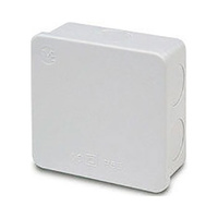 Caja de superficie estanca sin conos 84x84x50 IP66 Newlec