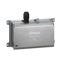 Caja metalica basica con 1 toma M3T2 32A 7.2kW monofasico con juego llaves + selector de  potencia modo 3 tipo 2 IP40 Simon