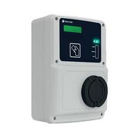 Caja recarga interior vehiculo electrico monofasico 2 tomas modo 1/2/3 Ethernet RVE-WB-MIX-SMART Circutor