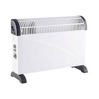 Calefactor convector con termostato regulable estandar blanco GSC