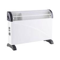 Calefactor convector con termostato regulable turbo blanco GSC