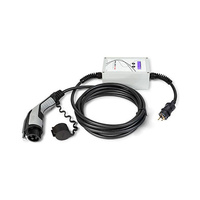 Cargador electrico EV portable tipo 1 SAE-J1772 16A 230V schuko con conector schuko Wallbox