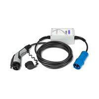 Cargador electrico EV portable tipo 1 SAE-J1772 32A 230V punto de recarga modo 3 compatible con IEC-61851-1 Wallbox