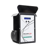 Cargador electrico UP Wallbox tipo 2 IEC-62196 20A 230V socket punto de recarga modo 3 compatible con IEC-61851-1 Wallbox