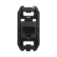 Conector Hembra Informatico RJ45 UTP Categoria 6 8 Contactos 1 Modulo Zenit NIESSEN