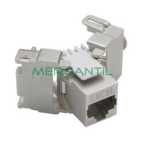 Conector Hembra RJ45 Categoria 6 FTP Keystone EXCEL - Sin Herramienta