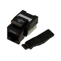Conector hembra RJ45 categoria 6 UTP keystone tool free blanca Excel - sin herramienta