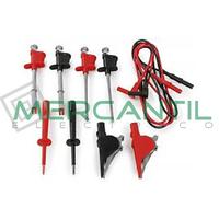 Conjunto Completo Cables y Puntas para Multimetros 44100 HT INSTRUMENTS