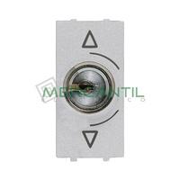 Conmutador de Llave 3 Posiciones 1 Modulo Zenit NIESSEN - Color Plata