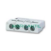 Contactor Auxiliar Frontal 1NO+1NC SGV2 RETELEC