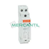 Contactor Modular 2P 25A 230Vca 2NO SGS1 RETELEC