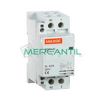 Contactor Modular 2P 63A 230Vca 1NO+1NC SGS1 RETELEC