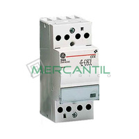 Contactor Modular 4P 24A 2NO+2NC CONTAX GENERAL ELECTRIC