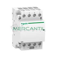 Contactor Modular 4P 40A iCT SCHNEIDER ELECTRIC