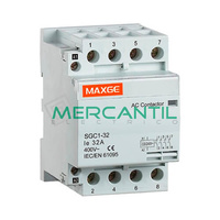 Contactor Modular 4P 63A 415Vca 2NO+2NC SGS1 RETELEC