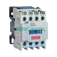 Contactor Modular con Auxiliar 3P 12A 3NO 24Vca RETELEC