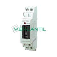 Contador de Energia Rail DIN Analogico Monofasico 25A CONTAX 2511 S0 ORBIS