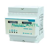 Contador de Energia Rail DIN Analogico Trifasico con Activa/Reactiva 6A CONTAX 0643 AR S0 ORBIS