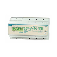 Contador de Energia Rail DIN Digital Monofasico 65A CONTAX D-6593-BUS-R V3X1 ORBIS