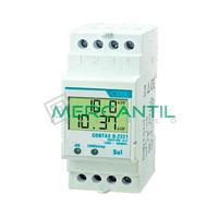 Contador de Energia Rail DIN Digital Monofasico con Display LCD 22.5A CONTAX D-2221 ORBIS