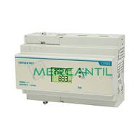 Contador de Energia Rail DIN Digital Trifasico con Display LCD 90A CONTAX D-9073 S0 ORBIS