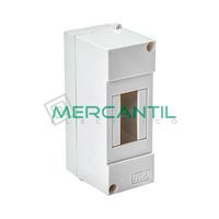 Cuadro Superficie 1 Fila y 2 Modulos IP40 Combi IDE