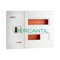 Cuadro de Abonado Montaje Rapido de Empotrar 2 Filas con ICP40 y 20 Modulos Pladur Pragma Basic SCHNEIDER ELECTRIC - Sin Puerta