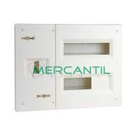 Cuadro de Abonado Montaje Rapido de Empotrar 2 Filas con ICP40 y 20 Modulos Pragma Basic SCHNEIDER ELECTRIC - Sin Puerta