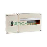 Cuadro de Abonado de Empotrar 1 Fila con ICP32 y 12 Modulos Pragma Basic SCHNEIDER ELECTRIC - Sin Puerta
